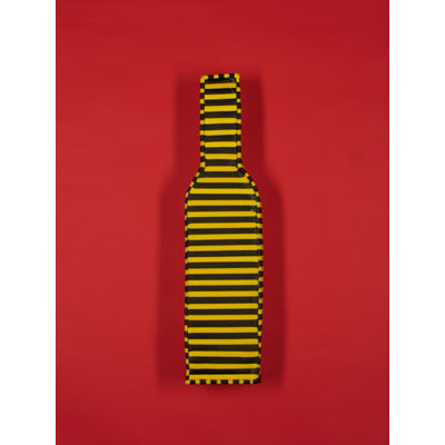 Black & Yellow Wall Bottle