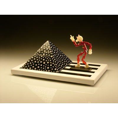 Stars and Stripes Pyramid with Reddy Kilowatt